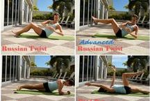 Workouts I Can Do Anywhere! / Fitness workouts that can be done anywhere - at home, in the grass, at a playground, or on the beach.