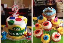 Sesame Street Birthday Party  / by Tommi Beth Ledbetter