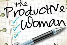 The Productive Woman / Quotes, tips, ideas, articles, . . . inspiration for The Productive Woman, a podcast about productivity for busy women.