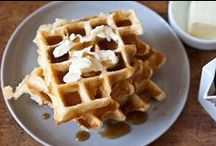Belgian waffle maker / by Adrienne White