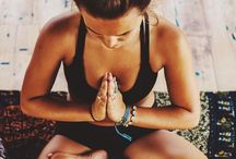 Yoga / Inspiration to practice yoga everyday; pretty pictures, great poses and practice tips
