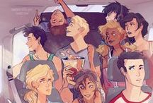 Percy Jackson and other demigods