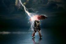 stormy weather / by Sarah Boblit