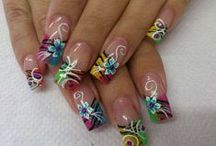 fun nail ideas / by Kimberly Haller
