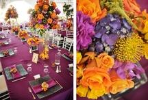 Purple and Orange Wedding! / by Andrea Wilder