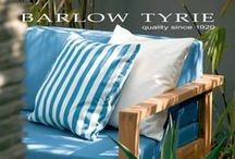 """Outdoor Furniture / We carry the deluxe line of outdoor furniture """"Barlow Tyrie"""" Absolutely weatherproof all marine stainless steel grade will never rust.  http://www.bbqing.com/store/shop/showproducts.cfm?catid=75&classid=8 / by BBQing.com"""