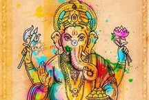 Ganesh & Hindu Gods & Goddesses / Hindu Gods & Goddesses have always been something that's been intriguing to me - especially Ganesh.  / by Jesi Bell-Godfrey
