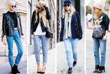 Vintage Jeans / Street style images of vintage denim jeans