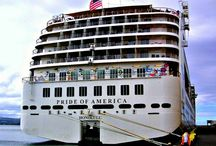 Norwegian Cruise Lines / NCL is the BEST cruise line and we loved Pride of America that goes to 4 Hawaiian Islands / by Nita Smith Rider