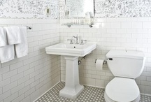 Inspiration for the Bathroom / by Jill Harrison