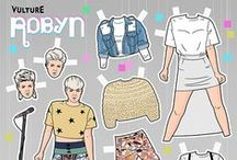 Paper doll / A hobby and a collection of memories / by Maudline