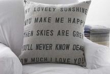 Cushions / by Miss Frangipani