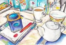 Art tea & coffee / by Oksana Dmitrieva