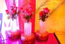 Wedding Centerpieces / Want something different for your function, party, display or concert. Want to entertain the kids? Check out our D'ziner Snow & Flora Gel! D'ziner Snow looks & feels just like real snow not white powder. Fun for everyone! Flora Gel can help preserve the life of cut flowers by absorbing & holding water & nutrients & gradually releasing them as required. Flowers can be stored, packed, transported & displayed without extra handling. This is only some of the amazing things these products can do!