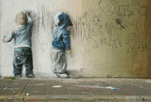 street art / mark the streets. / by drawberries