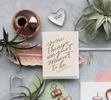 Dahlia Press / A Seattle based letterpress and design studio, we specialize in social stationery, ready-made greetings and custom invitations.