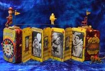 Circus ALTOID TINS/MATCHBOX ART