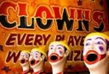 Circus CLOWNS/PIERROTS/HARLEQUINS, ETC.