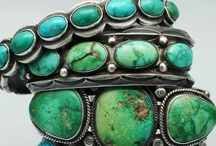 Turquoise Is THIS Girl's Best Friend! / Not much for diamonds and sparkly bling. I love vintage silver and natural stones. / by Tara Brock