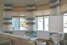 My Own  Custom Window Treatment Designs / All designed and fabricated by Sheri Stouffer .  See more at www.finishingtouchesinc.com.