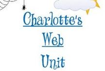 Charlotte's Web Unit Study / All about Charlotte and her friend Wilber. Crafts, snacks, hands on learning and MORE!