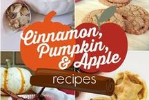 Autumn & Thanksgiving Food / Food ideas and recipes for autumn and Thanksgiving because up here in Canada, they're rolled into one. :)