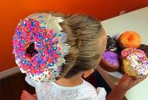 Donut Disturb / Donuts, and hair, and hair donuts.