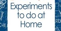 Experiments You Can Do At Home / Quick and easy experiments you can do at home, whether you are a homeschooler or teacher. Learning can be fun with hands-on learning opportunities.