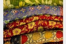 Fabulous Fabrics / There is always something very special about fabric; the colours and patterns can really put a smile on someone's face.