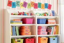 Playrooms / My kids have a playroom, but it looks nothing like these. One day...  / by Laura Willard