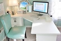Wonderful Workspaces  / No matter how much space I've had for an office, I prefer to work in my bed, on the couch and at the table. But one day, I shall have one of these...  / by Laura Willard