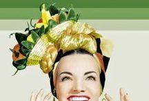 carmen miranda ❤️ / Carmen Miranda foi uma cantora e atriz luso-brasileira. Sua carreira artística transcorreu no Brasil e Estados Unidos entre as décadas de 1930 e 1950. Trabalhou no rádio, no teatro de revista, no cinema e na televisão.