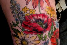 Tattoos- Flowers / by Daydream Nation