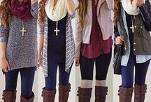 Fashion: Fall/Winter Outfits / by Tiffany Rausch