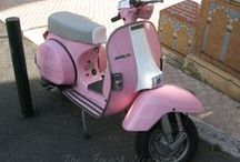 Pink Rides / Found in Europe. I love a pink vehicle