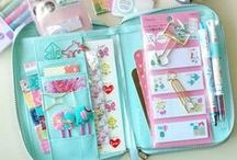 Kawaii Stationery / So my love of stationery and love of cuteness seems to be combining now - I've discovered (or re-discovered if I'm totally honest) Kawaii stationery.  Oh my, this is a fun hobby.