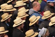 """Anabaptists and """"Plain"""" people / Amish, Old Order Mennonites, German Baptist Brethren and related groups"""