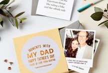 GIFTS FOR FATHERS / Unique gifts and cards for DAD designed by small independent businesses. Affiliate links may be used in my boards, which means that making purchases through them helps support my business at no extra cost to you. This does not affect which products I select!