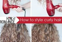 style: curly hair / by Kelley Epstein {Mountain Mama Cooks}