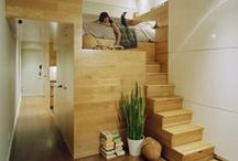 Lofts & Small Spaces / by Kellie Alexandra