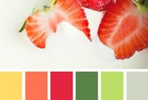 Colors!! What inspiration. / Ideas, forms, shapes and colors that inspire me in all my creative endeavors.