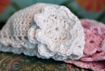 crochet- cover their tiny ears and tush / by Jan Dockery