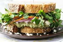 recipes: salads and sandwiches / The classic lunch combo of a salad and a sandwich