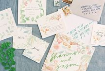WEDDING | PAPER GOODS / by Jess Wilcox