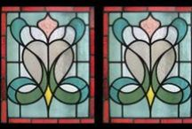 Stained and leaded glass / Beautiful picture windows