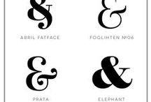 Fonts and Typography / tolle Schriftarten und Schriftkombinationen Kalligrafie Handlettering Watercolor Lettering