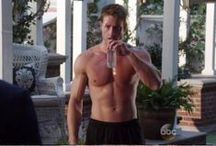 Shirtless from the set / Male Celeb Shirtless movie-cap!  / by the Celeb Archive