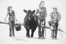 Cattltude--the attitude of showing cattle / My love. My passion. My hobby. My life. My cows. / by Chelsea Duvall