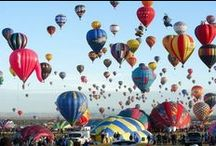 Up Up and Away - Hot Air Balloons / by Teri Redford
