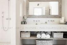 Bathroom / Badezimmer, Gäste-WC, Einrichtungsideen, Dekoideen und Grundrisse für die Badplanung